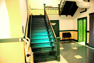 Stairwell of the 1897 Courthouse