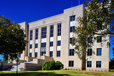 Brazoria County Courthouses:  Angleton, Texas