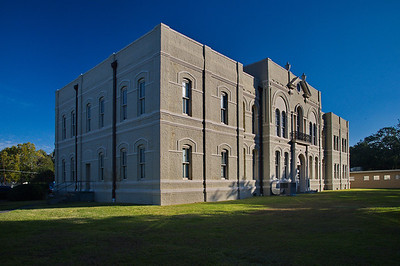 1897 Brazoria County Courthouse by Eugene Heiner