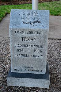 Texas Sesquicentennial Marker
