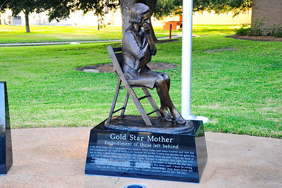 Gold Star Mother Statue