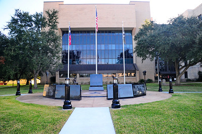 Veterans Memorial at the Brazoria County Courthouse