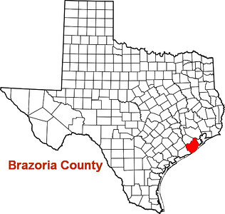Where is Brazoria County?