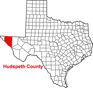 Where is Hudspeth County?