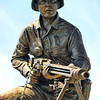 Audie Murphy Memorial on I-30