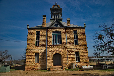 1901 Irion County Courthouse, Sherwood, Texas