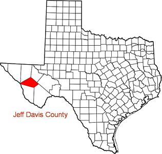 Where is Jeff Davis County?