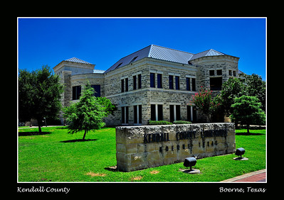 Kendall County Courthouse:  Boerne, Texas