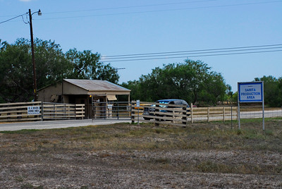 Kenedy Ranch Entrance, Sarita, Texas
