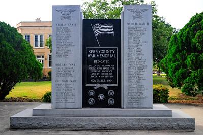 Kerr County War Memorial