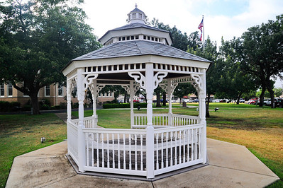 Gazebo across the stree