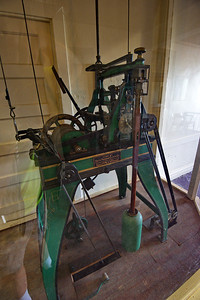 Clock mechanism on the second floor