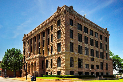 Lamar County Courthouse, Paris, Texas