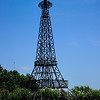 Paris, Texas has its own Eifel tower with a red cowboy hat