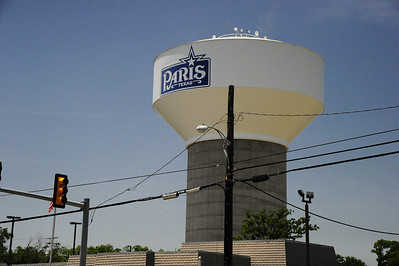 Paris, Texas Watertower