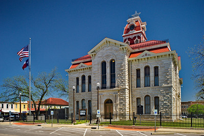 Lampasas County Courthouse, Lampasas, Texas