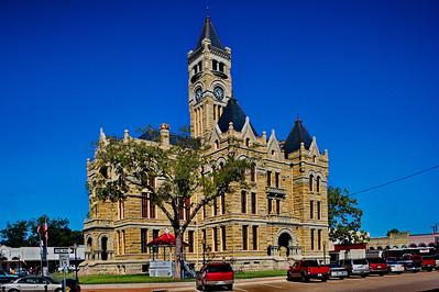 Lavaca County Courthouse, Hallettsville, Texas