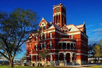Lee County Courthouse, Giddings, Texas
