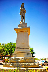 Llano County Courthouse Confederate Memorial