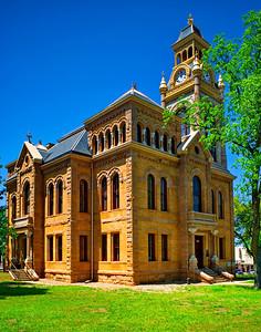 Llano County Courthouse:  Llano, Texas