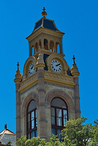 Llano County Courthouse Clock Tower