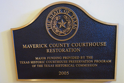 Restoration plaque