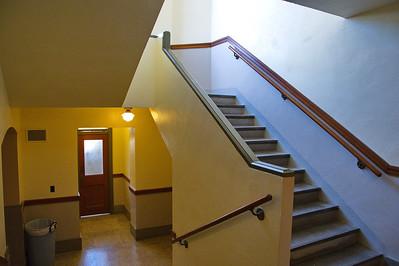Menard County Courthouse, Menard, Texas Stairwell