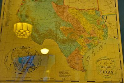 1845 Texas Map