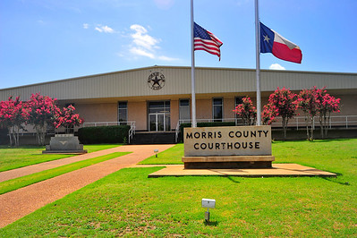 Morris County Courthouse:  Daingerfield, Texas