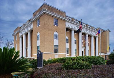 Polk County Courthouse:  Livingston, Texas