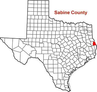 Where is Sabine County?