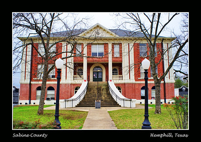 Sabine County Courthouse:  Hemphill, Texas