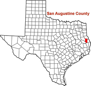 Where is San Augustine County?