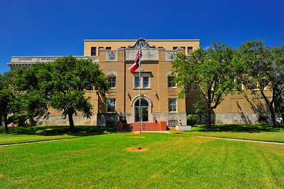 Front entrance San Patricio County, Sinton, Texas