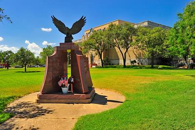 San Patricio County Courthouse, Sinton, Texas Veterans Memorial