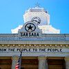 San Saba County Courthouse:  San Saba, Texas