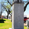 San Saba County Courthouse:  San Saba, Texas Veterans Memorial