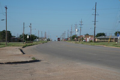 Main Street Aspermont, Texas