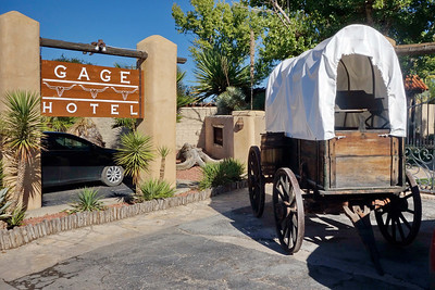 Marathon, Texas:  The famous of Gage Hotel