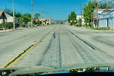 Sanderson, Texas:  Main Streee US90
