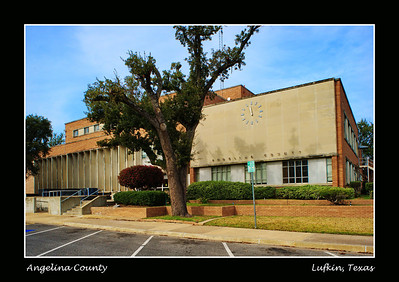 Angelina County Courthouse:  Lufkin, Texas