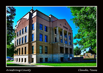 Armstrong County Courthouse,  Claude, Texas