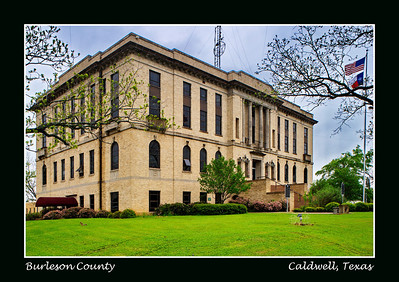 Burleson County Courthouse, Caldwell, Texas