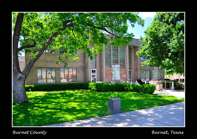 Burnet County Courthouse, Burnet, Texas