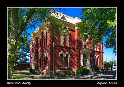 Brewster County:  Alpine, Texas