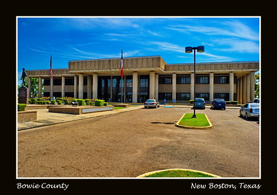 Bowie County Courthouse:  New Boston, Texas