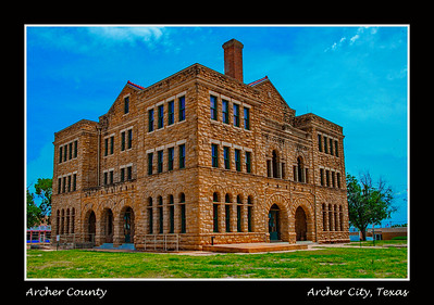 Archer County Courthouse,  Archer City, Texas