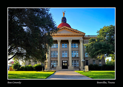 Bee County Courthouse: Beeville, Texas