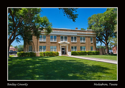 Bailey County Courthouse,  Muleshoe, Texas