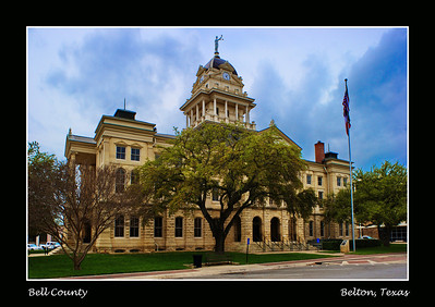 Bell County Courthouse: Belton, Texas
